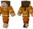 Chell Minecraft Skin - The player controlled character in Portal.