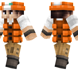 Fisherman Minecraft Skin - Fisherman modelled after the trainers from Pokémon.