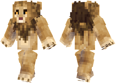 Lion Minecraft Skin - The king of the jungle.