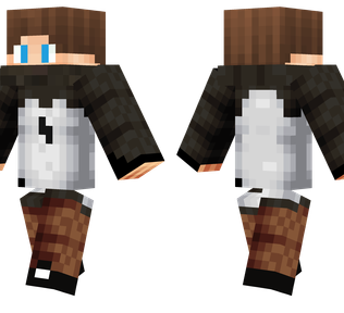 Parkour Guy Minecraft Skin - A young boy wearing sporty parkour clothes.
