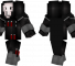 Reaper Minecraft Skin - Reaper from the game Overwatch.