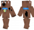 Scooby Doo Minecraft Skin - The protagonist in the Scooby-Doo animated series.